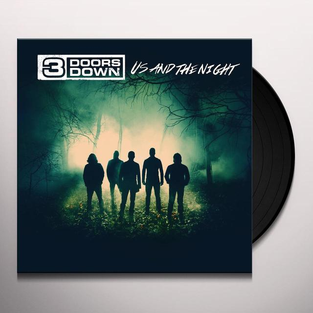 3 Doors Down US & THE NIGHT Vinyl Record