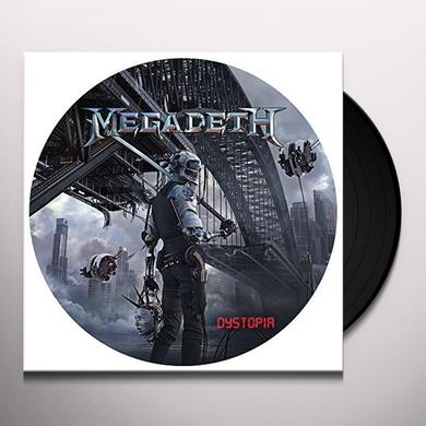 Megadeth DYSTOPIA Vinyl Record - Picture Disc