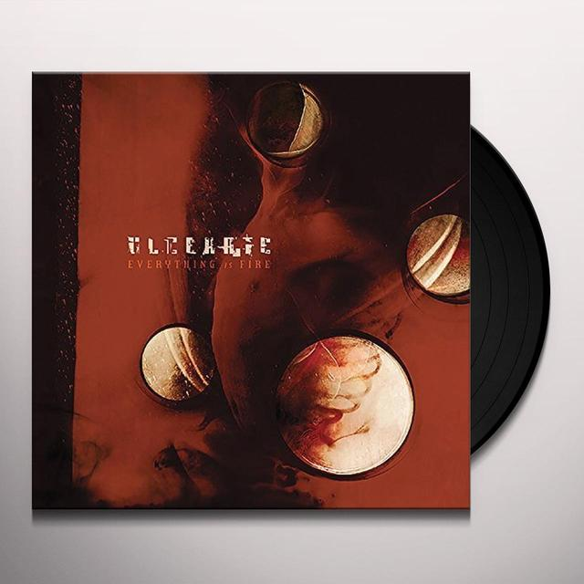 Ulcerate EVERYTHING IS FIRE Vinyl Record