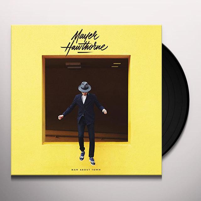 Mayer Hawthorne MAN ABOUT TOWN Vinyl Record