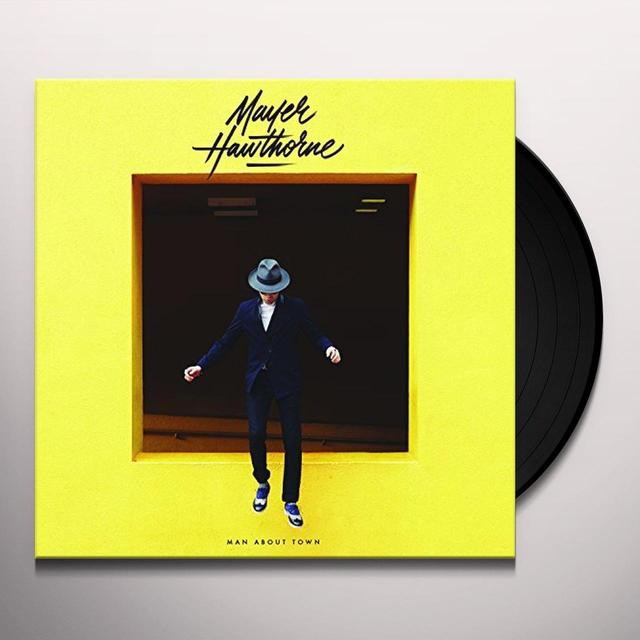Mayer Hawthorne MAN ABOUT TOWN Vinyl Record