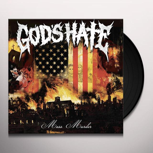 GODS HATE MASS MURDER Vinyl Record