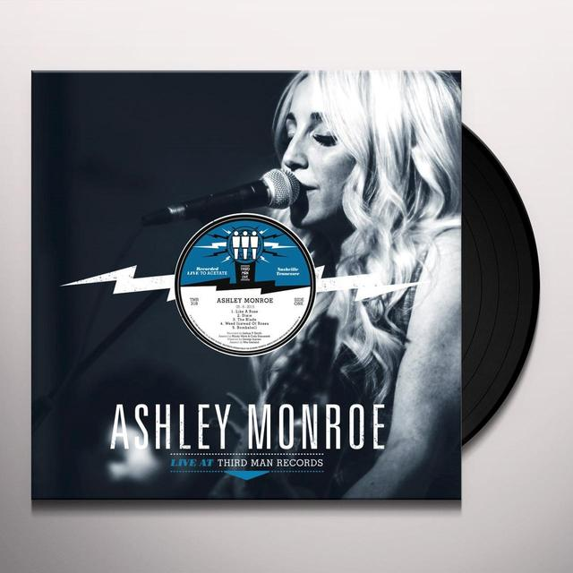 Ashley Monroe LIVE AT THIRD MAN Vinyl Record