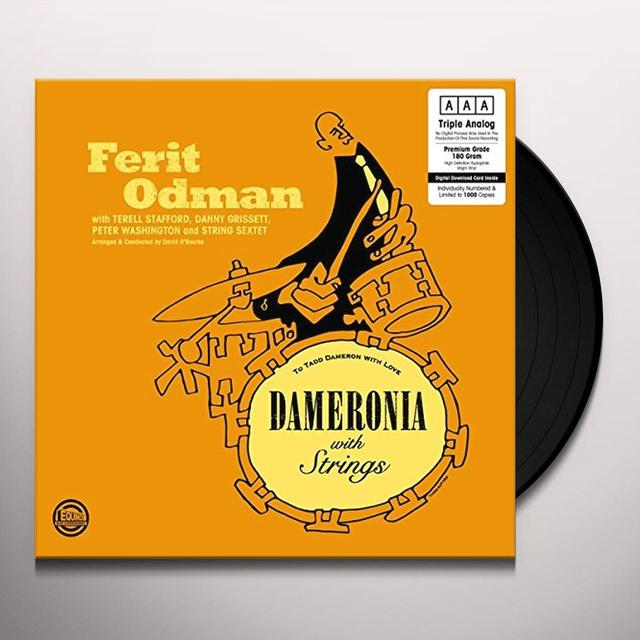 Ferit Odman DAMERONIA WITH STRINGS Vinyl Record - 180 Gram Pressing