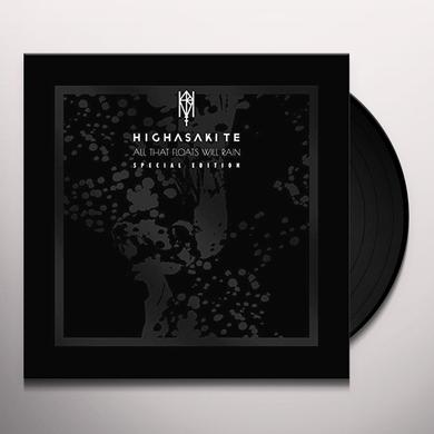 Highasakite ALL THAT FLOATS WILL RAIN Vinyl Record - UK Import