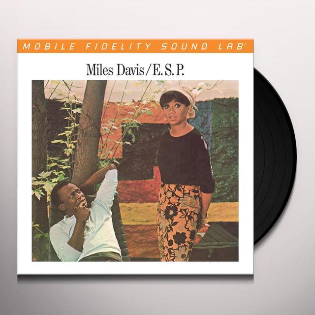 Miles Davis E.S.P. Vinyl Record - Limited Edition, 180 Gram Pressing