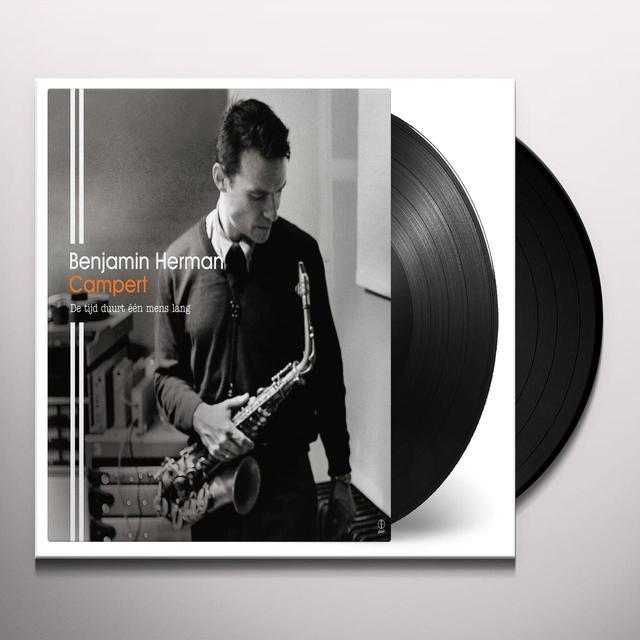 Benjamin Herman CAMPERT: DE TIJD DUURT EEN MENS LANG Vinyl Record