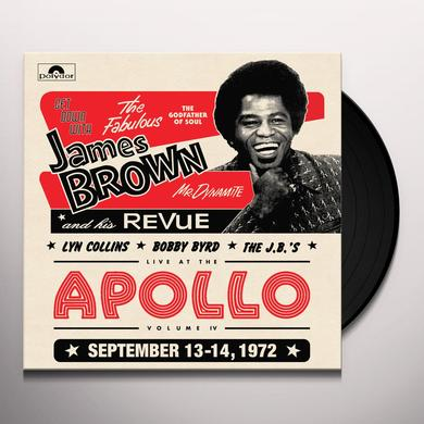 James Revue Brown LIVE AT THE APOLLO 1972 Vinyl Record