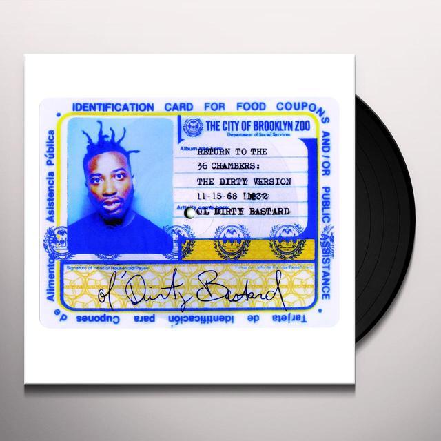 Ol Dirty Bastard BROOKLYN ZOO / SHIMMY SHIMMY YA Vinyl Record