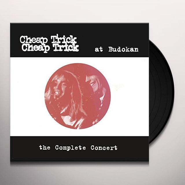 Cheap Trick AT BUDOKAN: THE COMPLETE CONCERT Vinyl Record - Gatefold Sleeve