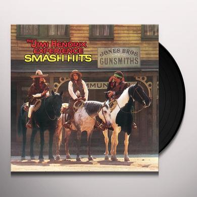 Jimi Hendrix SMASH HITS Vinyl Record