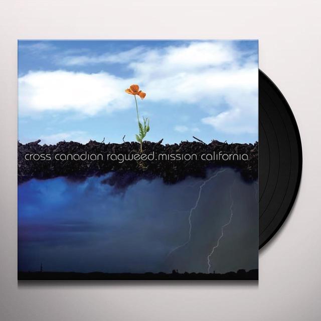 Cross Canadian Ragweed MISSION CALIFORNIA Vinyl Record