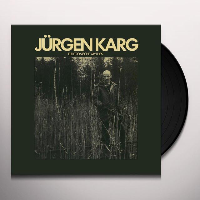 Jurgen Krag ELEKTRONISCHE MYTHEN Vinyl Record
