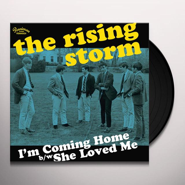 RISING STORM I'M COMING HOME / SHE LOVED ME Vinyl Record