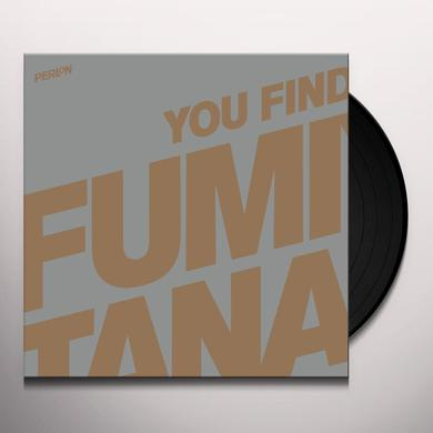 Fumiya Tanaka YOU FIND THE KEY Vinyl Record