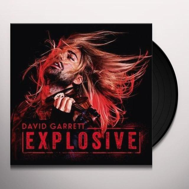 David Garrett EXPLOSIVE Vinyl Record - Holland Import