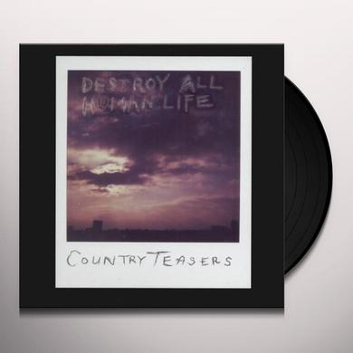 Country Teasers DESTROY ALL HUMAN LIFE Vinyl Record - UK Import