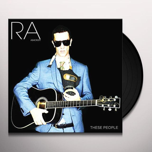 Richard Ashcroft THESE PEOPLE Vinyl Record - UK Import