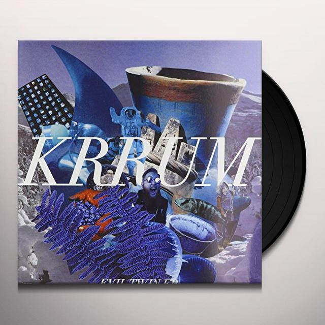 KRRUM EVIL TWIN (EP) Vinyl Record - UK Release