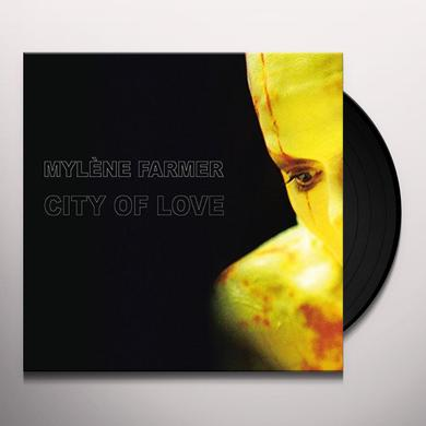 Mylène Farmer CITY OF LOVE  (FRA) Vinyl Record - Limited Edition