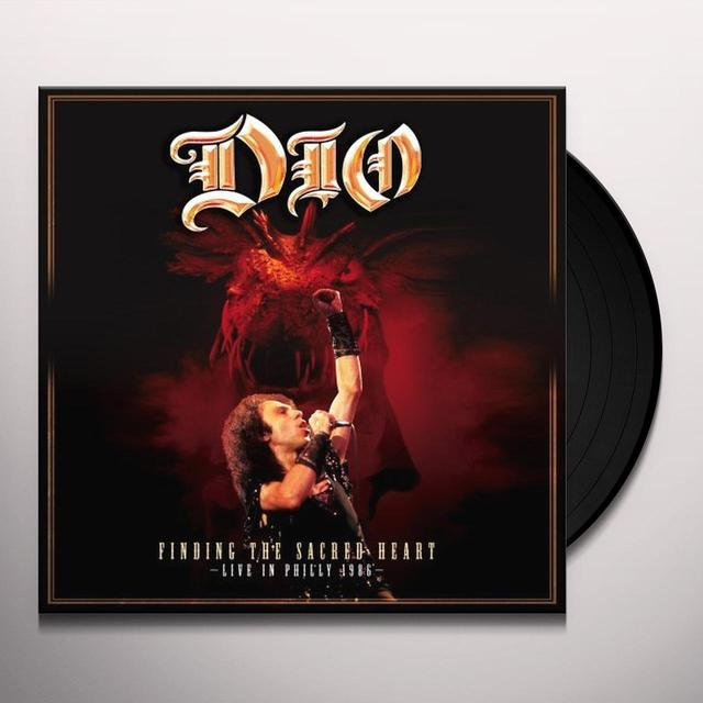 Dio FINDING THE SACRED HEART: LIVE Vinyl Record - UK Import