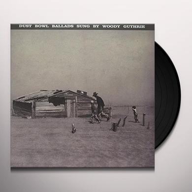 Woody Guthrie DUST BOWL BALLADS Vinyl Record - UK Import