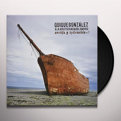 Quique Gonzalez AVERIA Y REDENCION Vinyl Record