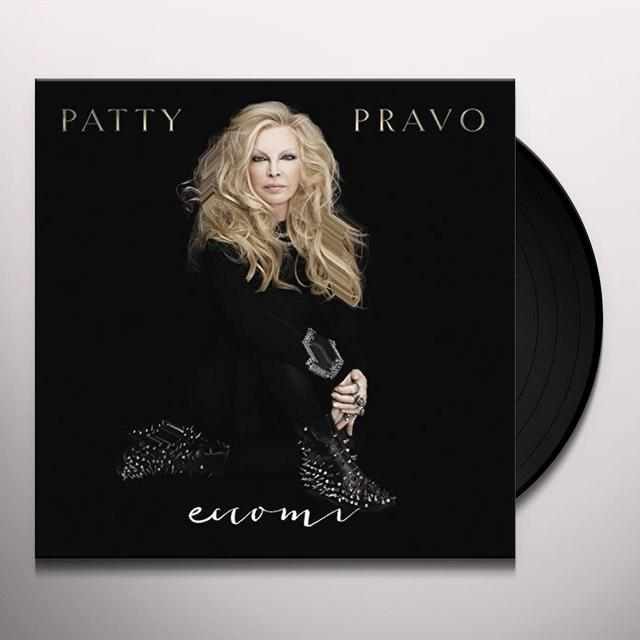 Patty Pravo ECCOMI Vinyl Record - Italy Import