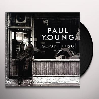Paul Young GOOD THING Vinyl Record - UK Import