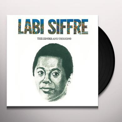 Labi Siffre SINGER & THE SONG Vinyl Record