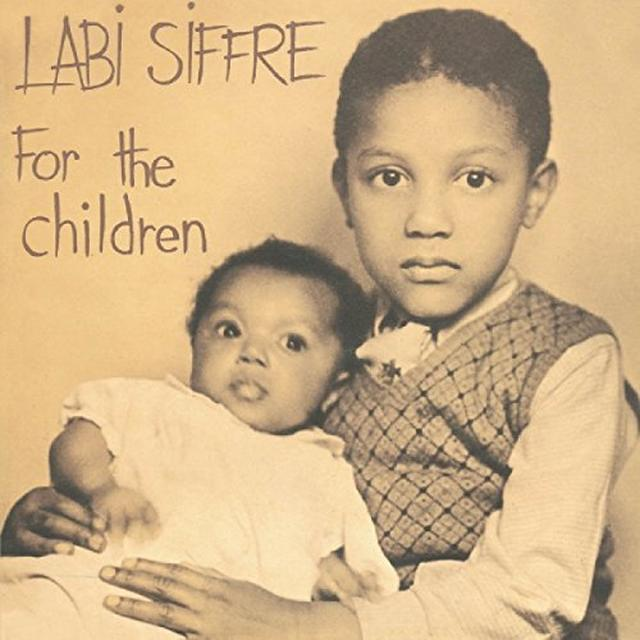 Labi Siffre FOR THE CHILDREN Vinyl Record