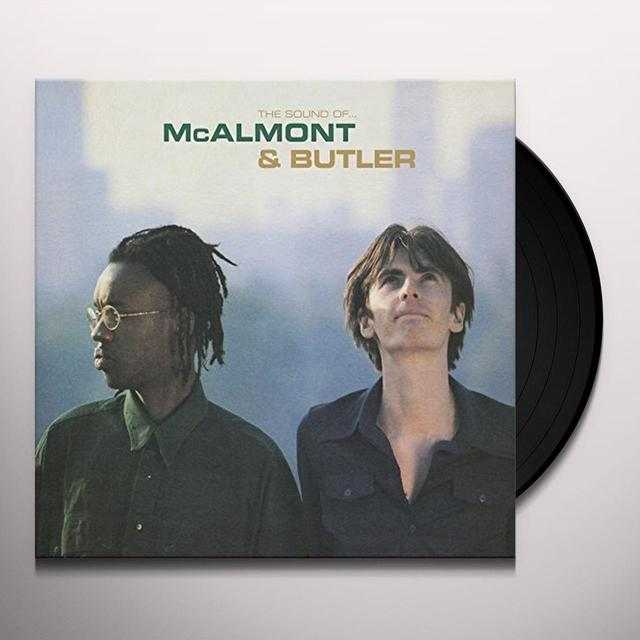 SOUND OF MCALMONT & BUTLER Vinyl Record - UK Import