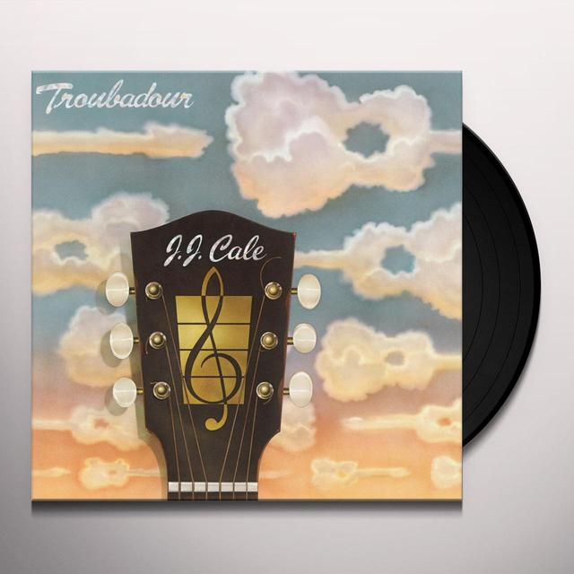 J.J. Cale TROUBADOUR Vinyl Record - Holland Import