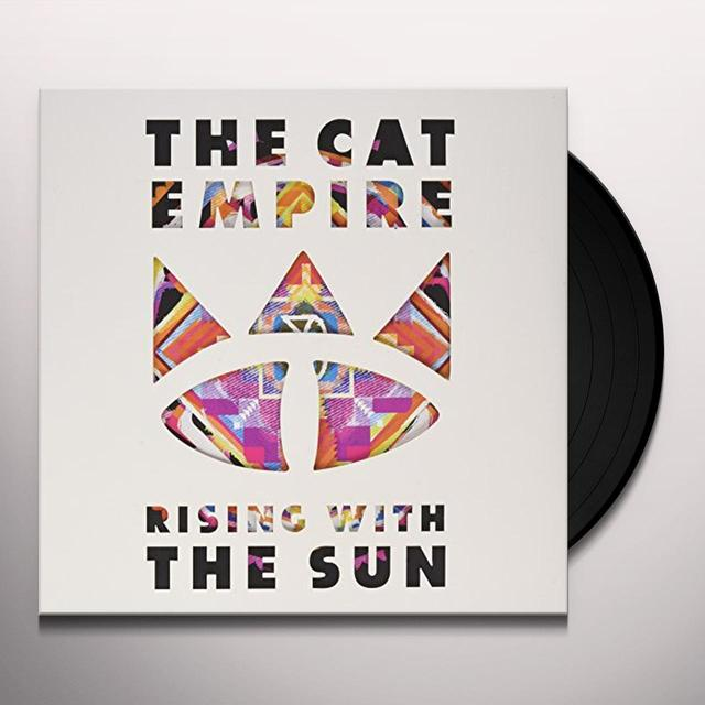 The Cat Empire RISING WITH THE SUN Vinyl Record - Canada Import