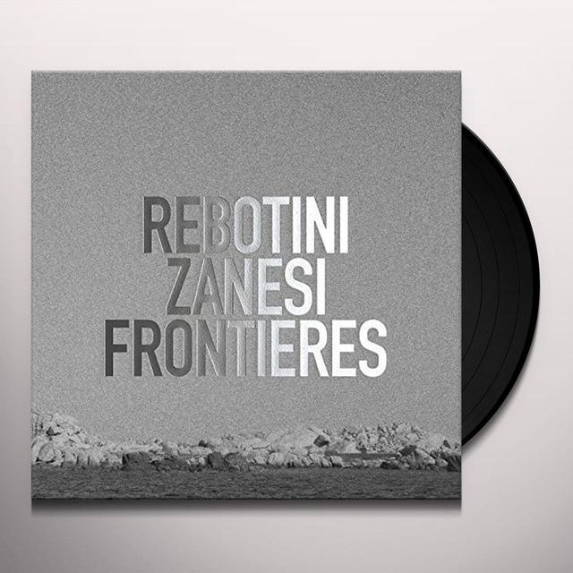 Arnaud Rebotini / Christian Zaneesi FRONTIERES Vinyl Record - UK Import