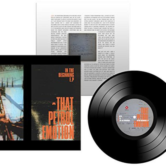 That Petrol Emotion IN THE BEGINNING Vinyl Record