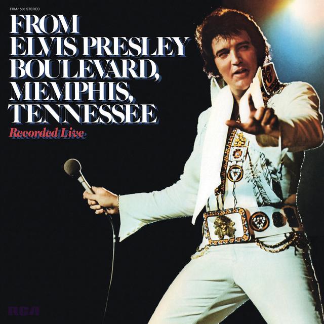 FROM ELVIS PRESLEY BOULEVARD MEMPHIS TENNESSEE Vinyl Record