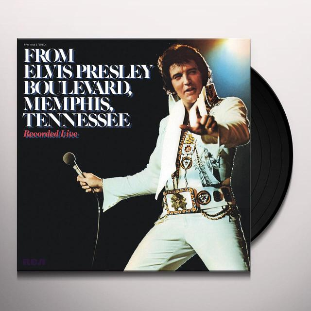 FROM ELVIS PRESLEY BOULEVARD MEMPHIS TENNESSEE Vinyl Record