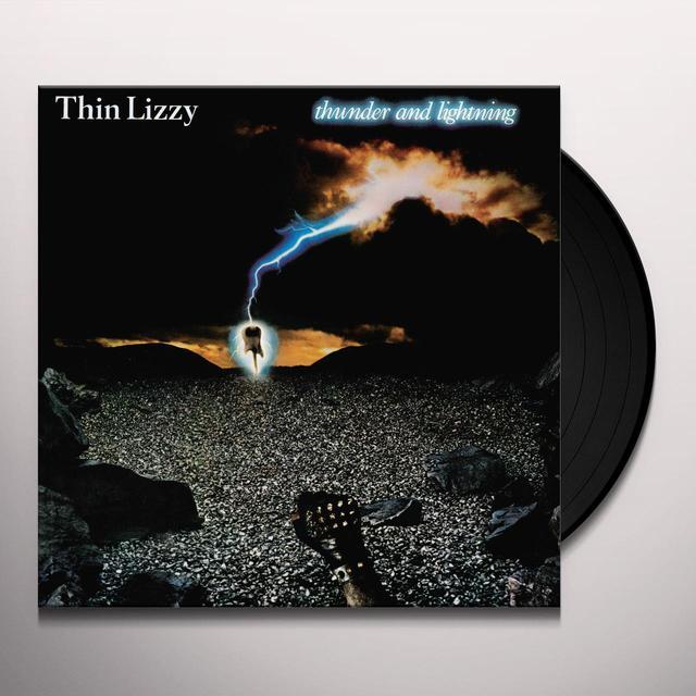 Thin Lizzy THUNDER & LIGHTNING Vinyl Record - Gatefold Sleeve, Limited Edition, 180 Gram Pressing