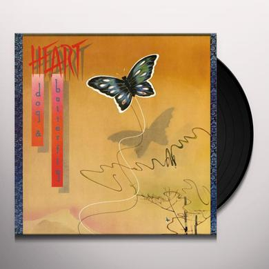 Heart DOG AND BUTTERFLY Vinyl Record