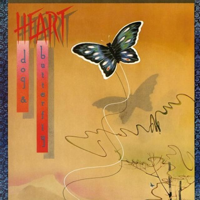 Heart DOG AND BUTTERFLY Vinyl Record - Gatefold Sleeve, Limited Edition, 180 Gram Pressing