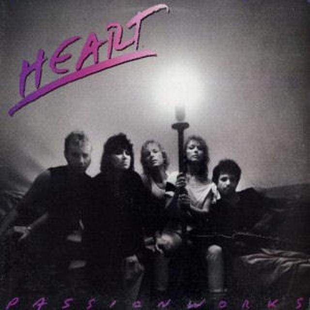 Heart PASSIONWORKS Vinyl Record - Gatefold Sleeve, Limited Edition, 180 Gram Pressing