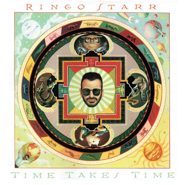 Ringo Starr TIME TAKES TIME Vinyl Record - Colored Vinyl, Gatefold Sleeve, Limited Edition, 180 Gram Pressing, Red Vinyl