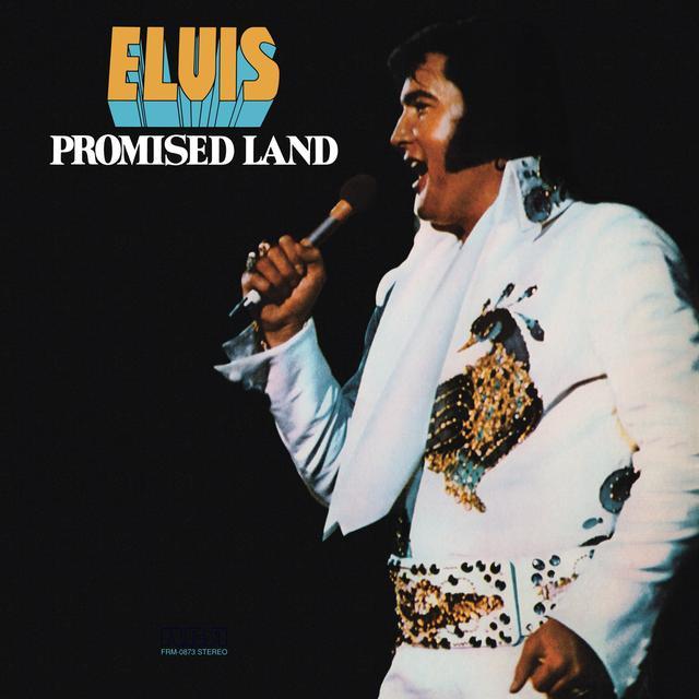 Elvis Presley PROMISED LAND Vinyl Record - Colored Vinyl, Gatefold Sleeve, Gold Disc, Limited Edition, 180 Gram Pressing