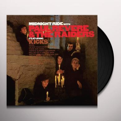 REVERE,PAUL / RAIDERS / LINDSAY,MARK MIDNIGHT RIDE Vinyl Record - Gatefold Sleeve, Limited Edition, 180 Gram Pressing, Anniversary Edition