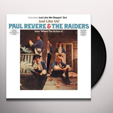 REVERE,PAUL / RAIDERS / LINDSAY,MARK JUST LIKE US Vinyl Record - Gatefold Sleeve, Limited Edition, 180 Gram Pressing, Anniversary Edition