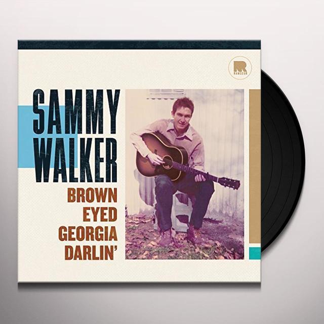Sammy Walker BROWN EYED GEORGIA DARLIN Vinyl Record - 180 Gram Pressing