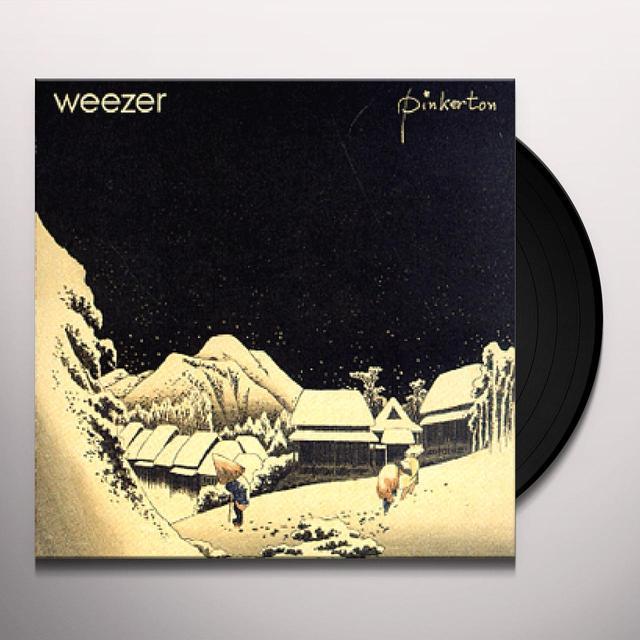 Weezer PINKERTON Vinyl Record - Holland Release