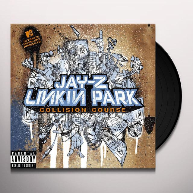 Jay-Z / Linkin Park COLLISION COURSE Vinyl Record - Holland Import