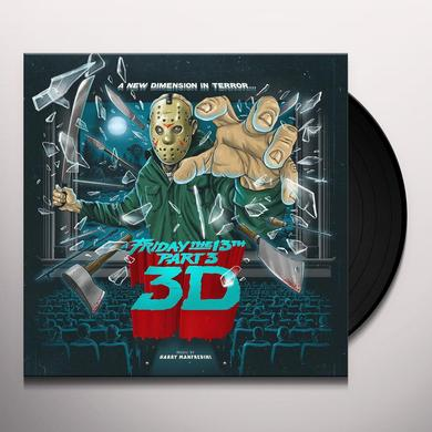 Harry Manfredini FRIDAY THE 13TH PART 3 / O.S.T. Vinyl Record - 180 Gram Pressing, Deluxe Edition
